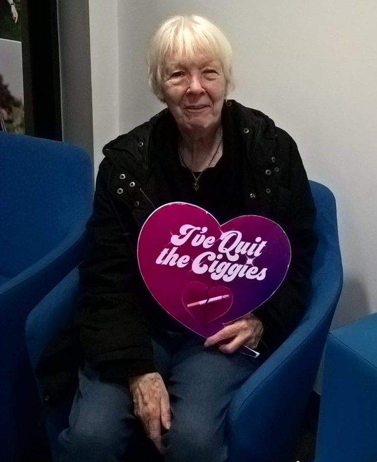 Beryl has been smokefree for 5 Months!
