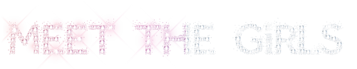 """Meet the girls"" logo"