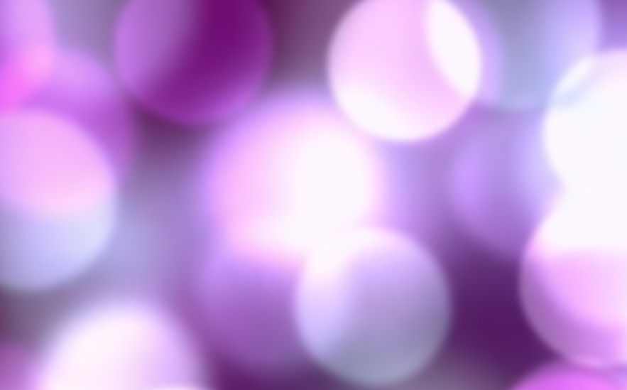 Blurred background of purple bubbles